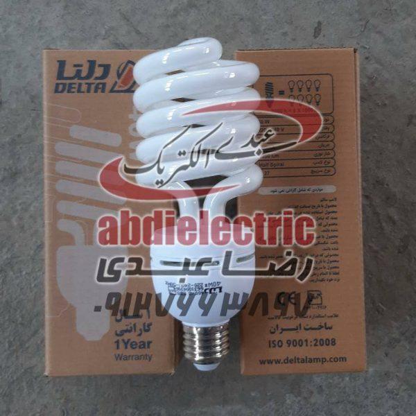 لامپ کم مصرف 25 وات برند دلتا