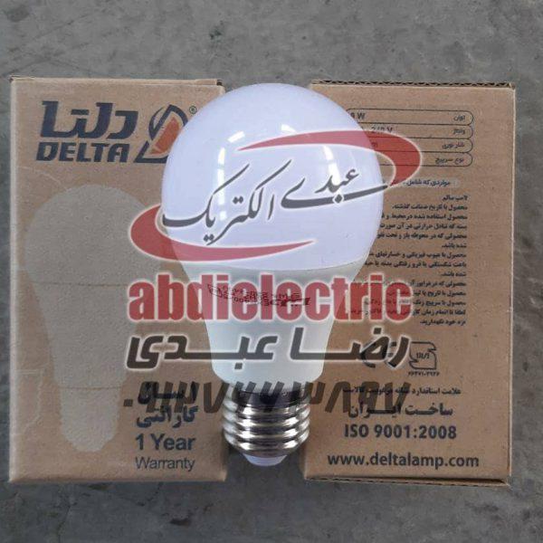 لامپ 9 وات ال ای دی برند دلتا