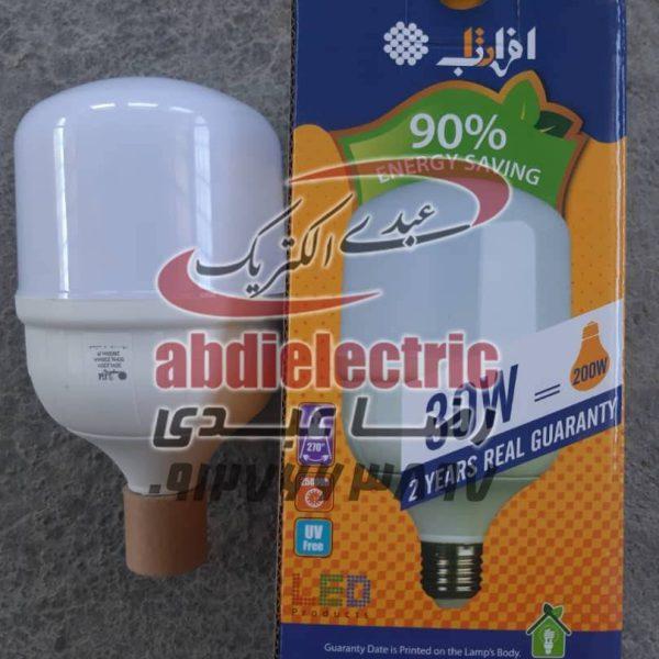 لامپ ال ای دی 30 وات برند افراتاب