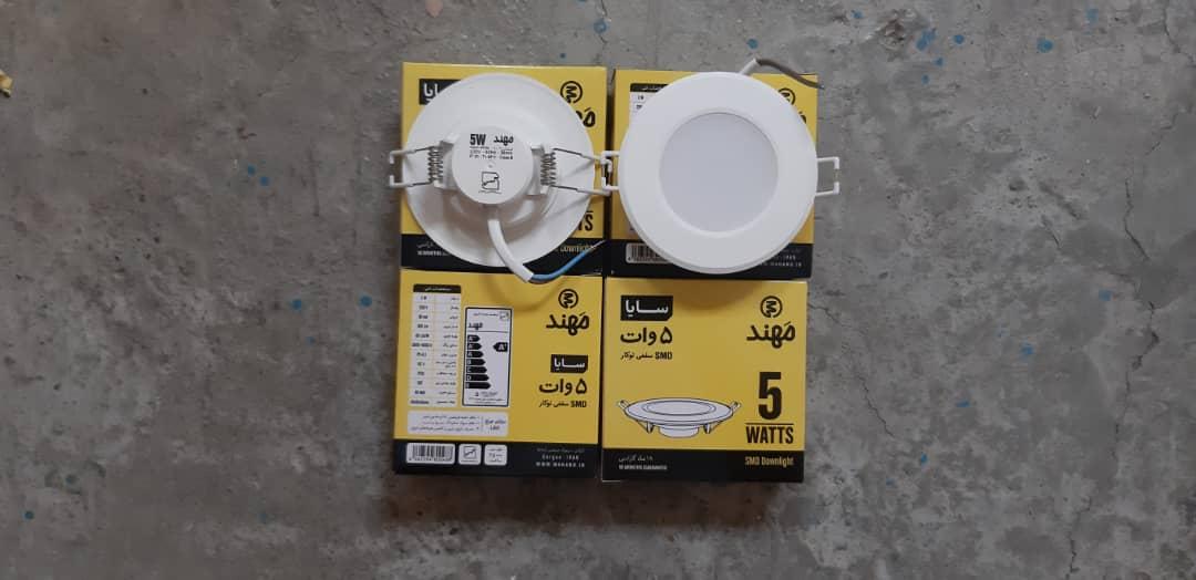 پنل 5وات LED سقفی سایا مهند