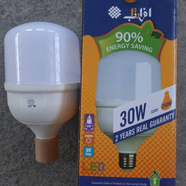 لامپ 30وات ال ای دی افراتاب