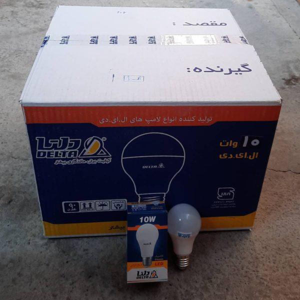 لامپ 10وات ال ای دی دلتا