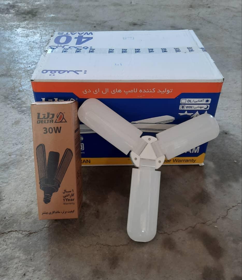 لامپ 30وات رسام دلتا