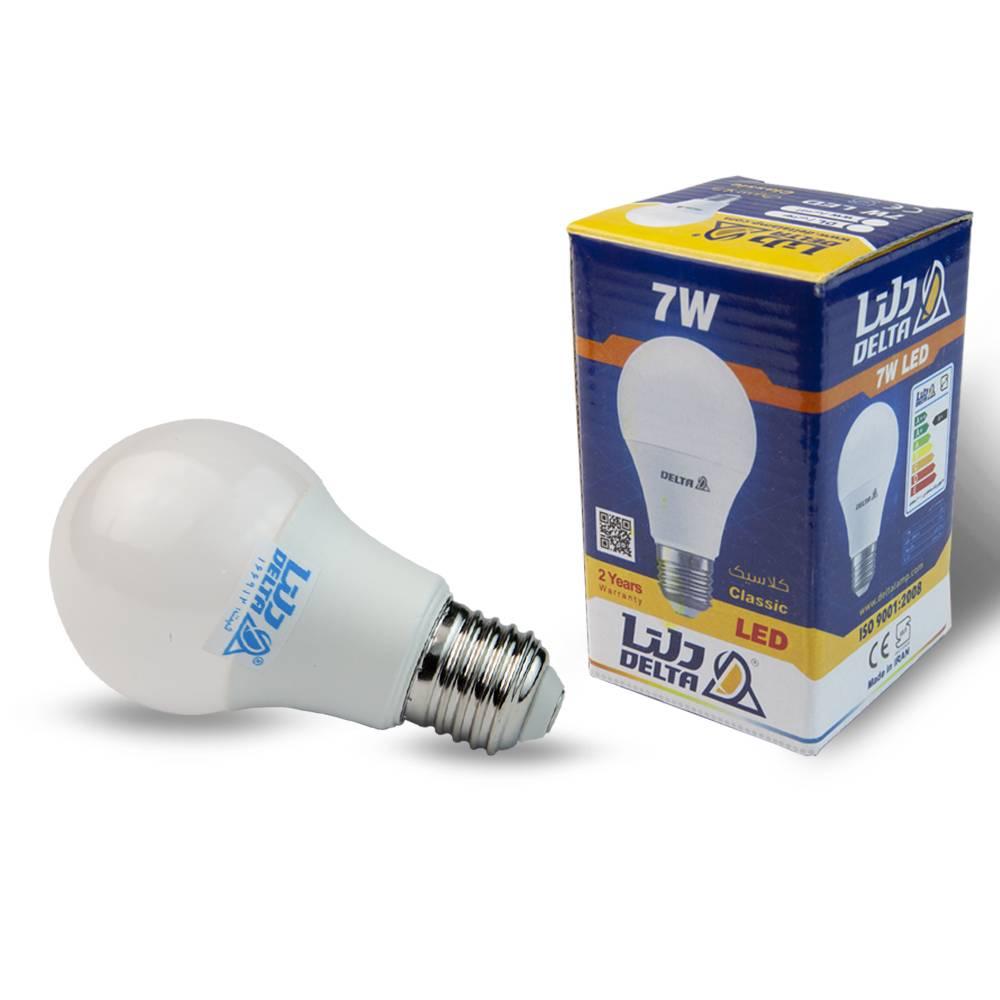 لامپ 7 وات led دلتاcopy